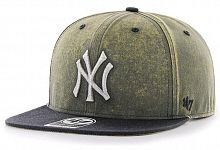 Кепка (snapback) 47 Brand Cement Captain NY Yankees (CMNTP17GWP-VN)