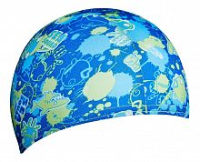 Шапочка для плавания Speedo Sea Squad Polyester Cap Ju Blue (8-079977239)