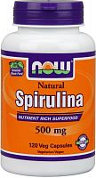 NOW Foods Spirulina 500 мг 120 капс (811797)