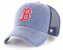 Кепка-трекер 47 Brand Clean Up Boston Red Sox (B-BRNCL02PZPNE-NY)