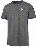 Футболка мужская 47 Brand Rundown Ringer Tee LA Dodgers