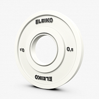 Диск Eleiko IWF Weightlifting Competition Disc - 0.5 kg FG (121-0005F)
