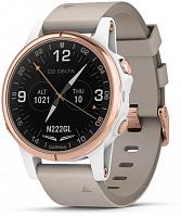 Спортивные часы Garmin D2 Delta S Aviator with Beige Leather Band (010-01987-30)