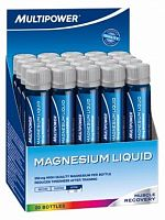 Минералы Multipower Magnesium Liquid 20шт х 25мл (102437)