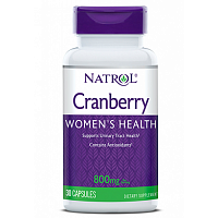 Антиоксиданты Natrol Cranberry Extract 800mg - 30 капс (815861)
