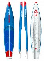 "Гоночная SUP доска Starboard 12'6"" X 26"" All Star Carbon Sandwich 2018"