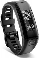 Фитнес трекер Garmin Vivosmart HR black