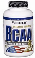 Аминокислоты Weider All Free Form BCAA, 130 таб (105312)