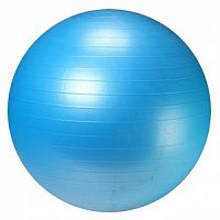 Фитбол антивзрыв, насос в комплекте LiveUp Anti-Burst Ball (LS3222-55b)