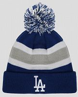 Шапка 47 Brand Breakaway Cuff Knit Dodgers (BRKAW12ACE-RY)