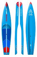"Гоночная SUP доска Starboard 12'6"" X 28"" All Star Hybrid Carbon 2018"