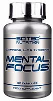 Энергетик Scitec Nutrition Mental Focus, 90 капс (107160)