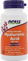 NOW Foods Hyaluronic Acid 100 mg,120 veg caps (812983)