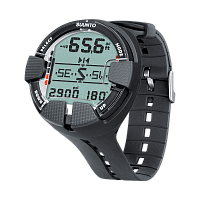 Декомпрессиметр Suunto Vyper Air Black c трансмиттером USB (SS018540000)