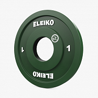 Диск Eleiko WPPO Powerlifting Competition Disc - 1 kg RC (3001781-0010R)
