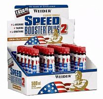 Энергетик Weider Speed Booster Plus 2, 20шт х 25мл (105427)