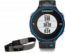 Беговой пульсометр с GPS Garmin Forerunner 620 Blue/Black HRM-RUN