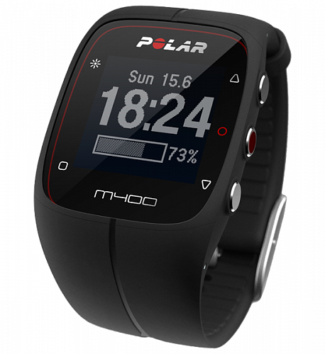 Пульсометр Polar M400 HR white