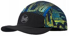 Кепка беговая Buff Run Cap effect logo multi (BU 117191.555.10.00)