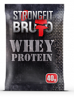 Сывороточный протеин пробник Strong Fit Brutto Whey Protein, 40 г (106815)